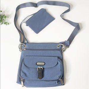 Baggallini Blue Crossbody Bag & Coin Purse